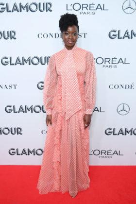 Danai Gurira on Glamour Women Of The Year Awards 2019 red carpet