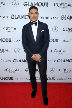 Trevor Noahat Glamour Women Of The Year Awards 2019