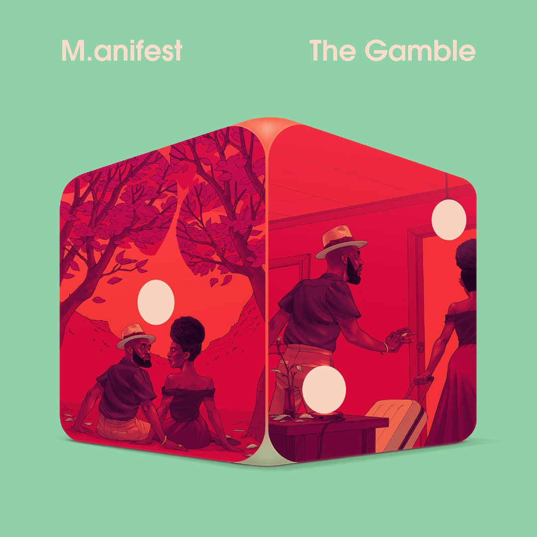 The Gamble album cover art by M.anifest