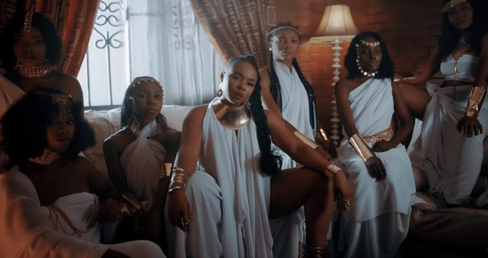 Yemi Alade Delivers The Visuals For 'Shake' Featuring Duncan Mighty