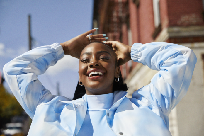 Justine Skye Takes First Leap Into Fashion, Announces Partnership With H&M,face powder for dark skin, hairstyles for black hair, cream for black skin, makeup for brown skin, african suit, full lace front wigs, natural hair journey, real human hair wigs, accra ghana tourism, remy full lace wigs, cantu hair products, doo gro hair vitalizer, human hair wigs for sale, curly human hair weave, cheap full lace wigs, free beauty box, discount lace wigs, lace wigs for black women,