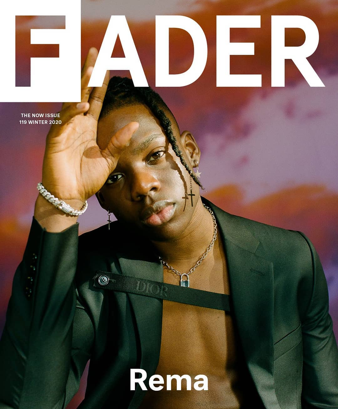 Rema Covers Fader's NOW Issue