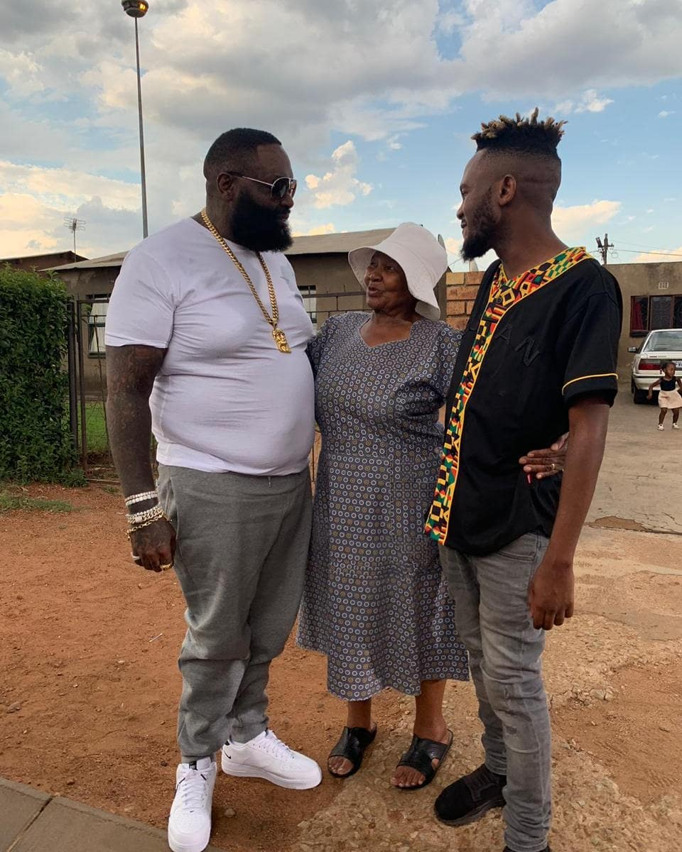 Kwesta Scores Major Collaboration With Rick Ross Titled 'I Came I Saw'