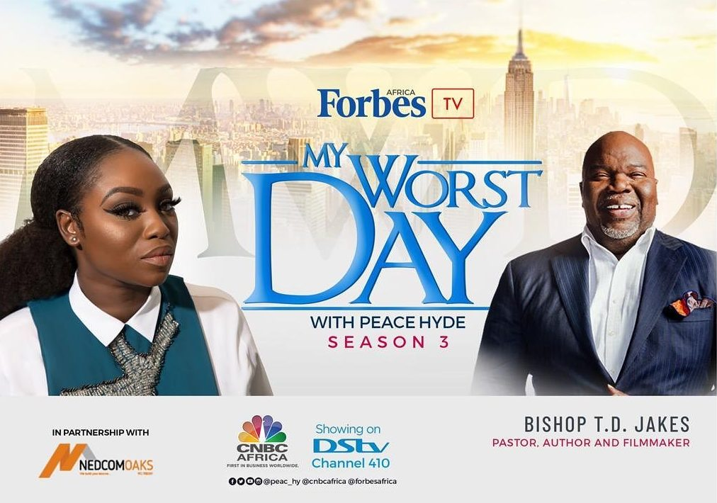 TD Jakes Hosted On 'My Worst Day with Peace Hyde'