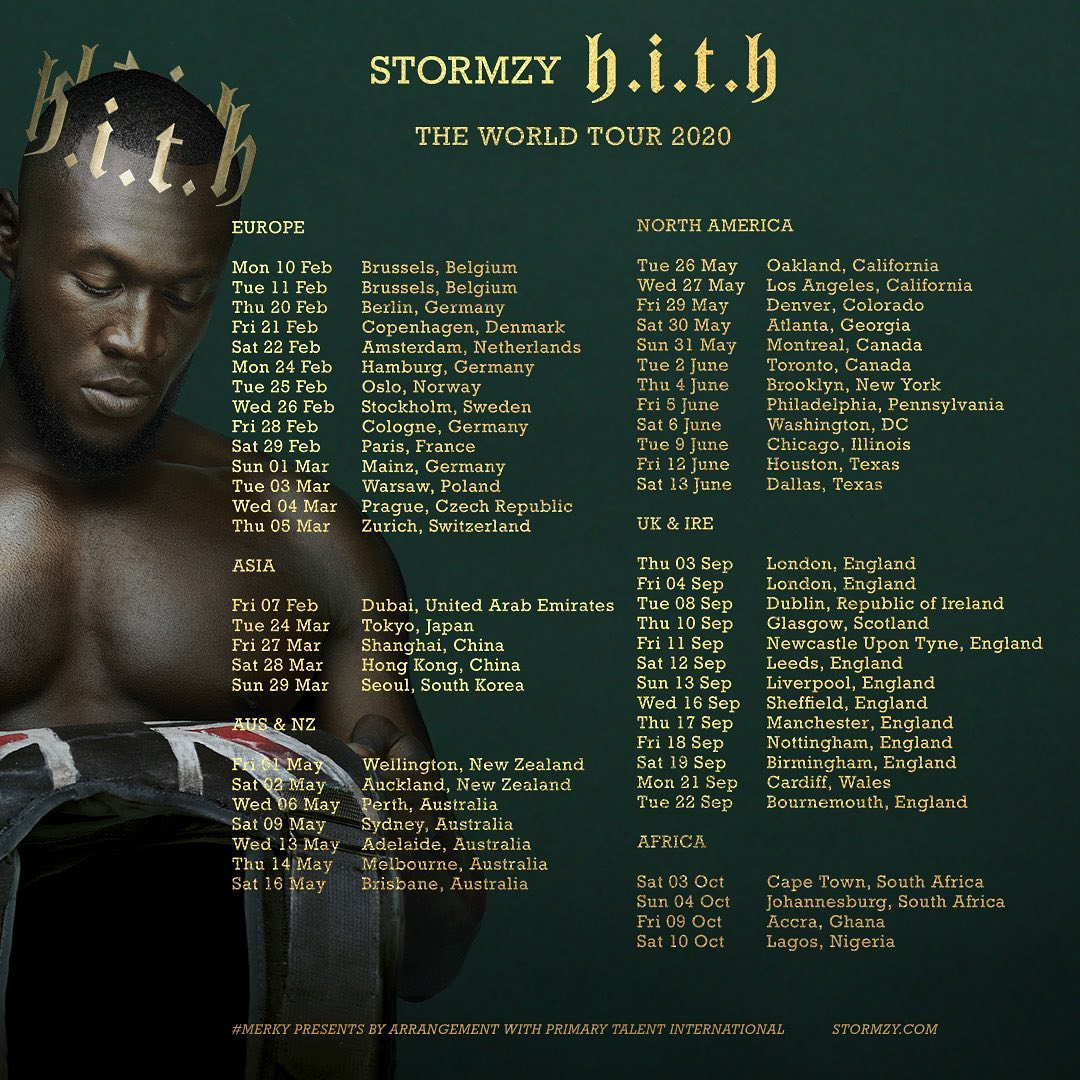 Stormzy Releases 'Heavy Is The Head' Album