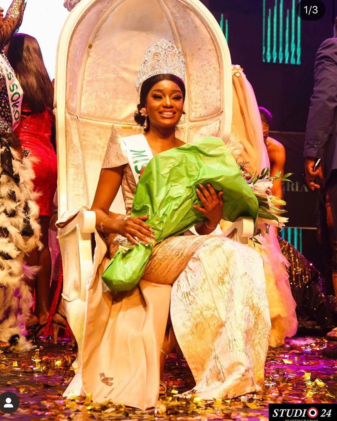 Beauty Etsanyi Tukura Wins Miss Nigeria 2019