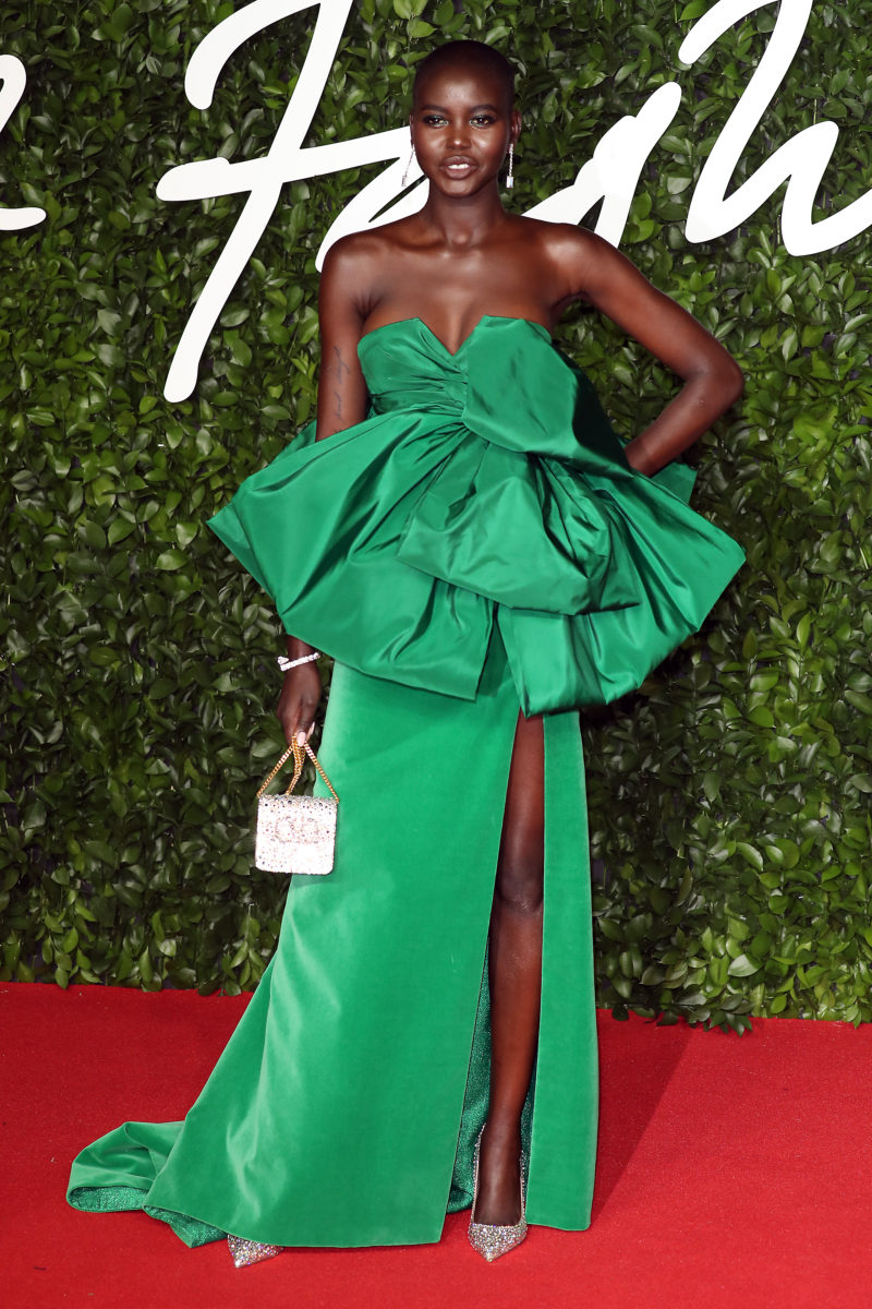 Adut Akech at Fashion Awards 2019 Held AtRoyal Albert Hall, See The Best Red Carpet Looks