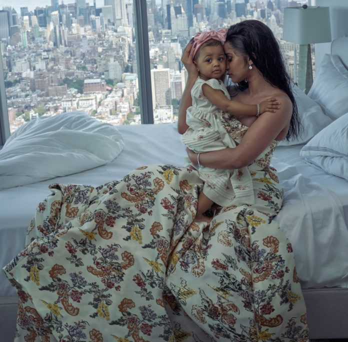 Cardi B Celebrates Motherhood On The Cover Of Vogue