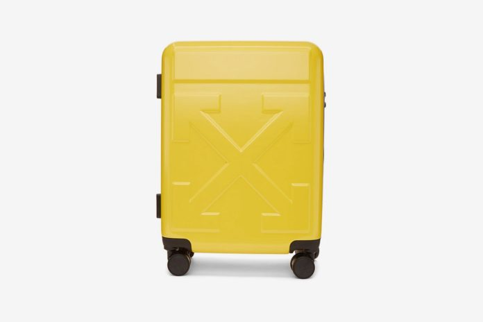 Off White Unveils New Travel Suitcase