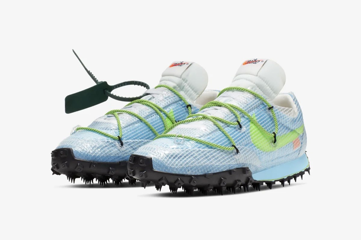 Off-White & Nike Release The Waffle Racer Sneakers