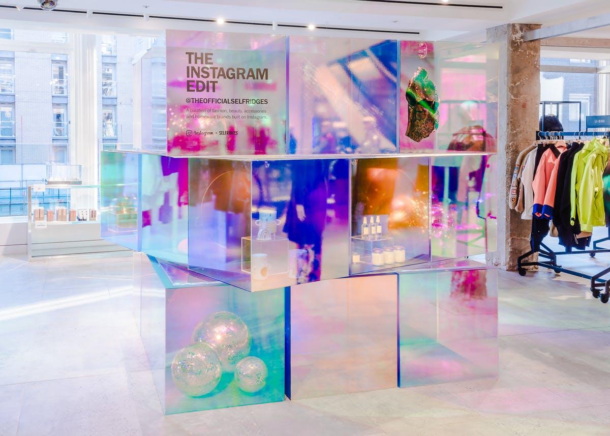 Instagram Launches Pop-Up ShopSelfridges LondonFor Christmas