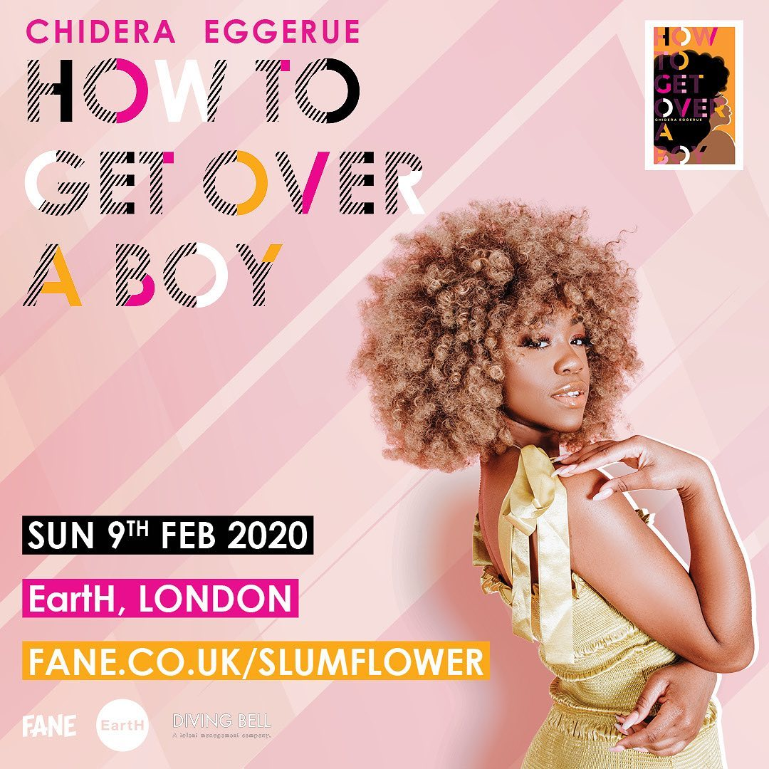 Writer Chidera Eggerue's New Book 'How to Get Over a Boy' Is A Must Read For Ladies