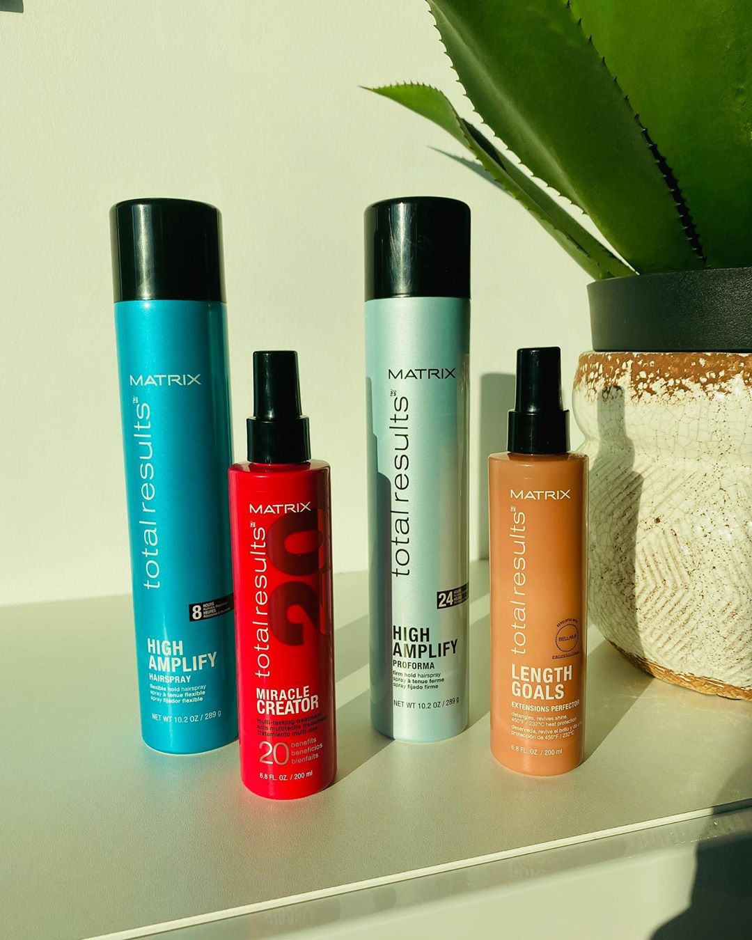 Essential hair products that Vernon François uses