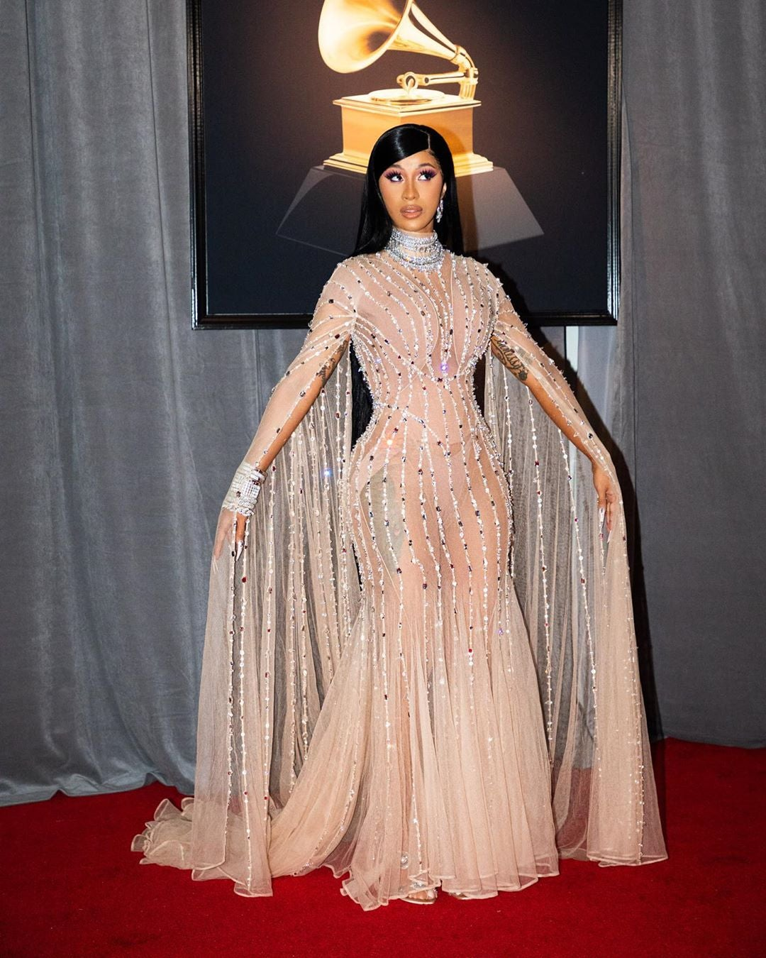 Cardi B Steals Grammys 2020 With This Comely Look Off The Red Carpet