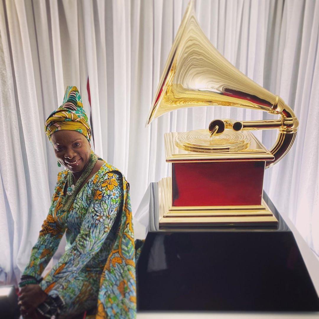 Angélique Kidjo Has Won Best World Music Album For 'Celia'