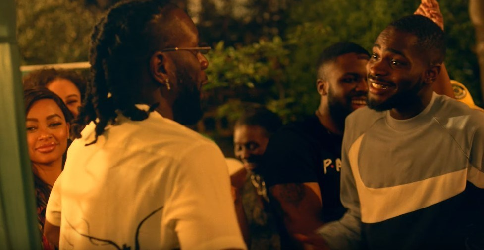 Dave and Burna Boy in the video for 'Location'
