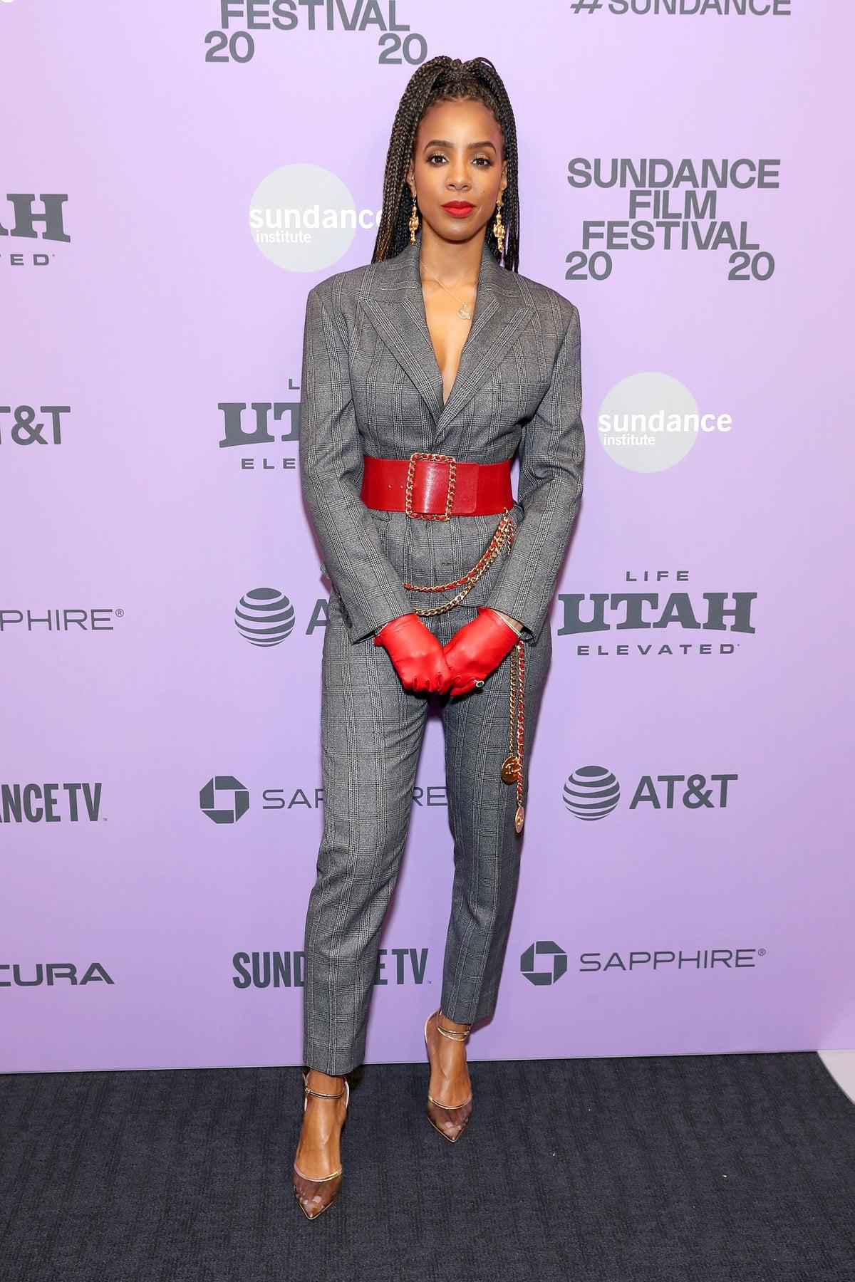 Kelly Rowland at the 2020 Sundance Film