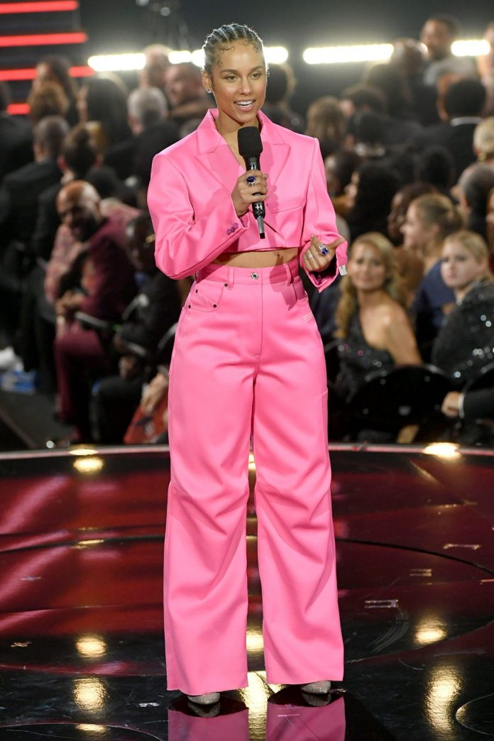 Alicia Keys Turns Heads With All Her Five Noteworthy Outfits At The Grammys 2020