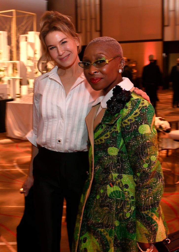 Charlize Theron & Cynthia Erivo Spotted At Oscars 2020 Nominees Luncheon