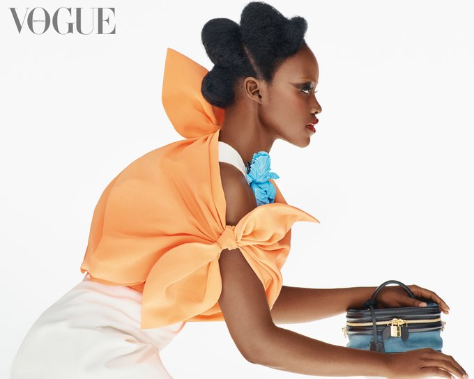 Lupita Nyong'o Covers British Vogue's February Issue