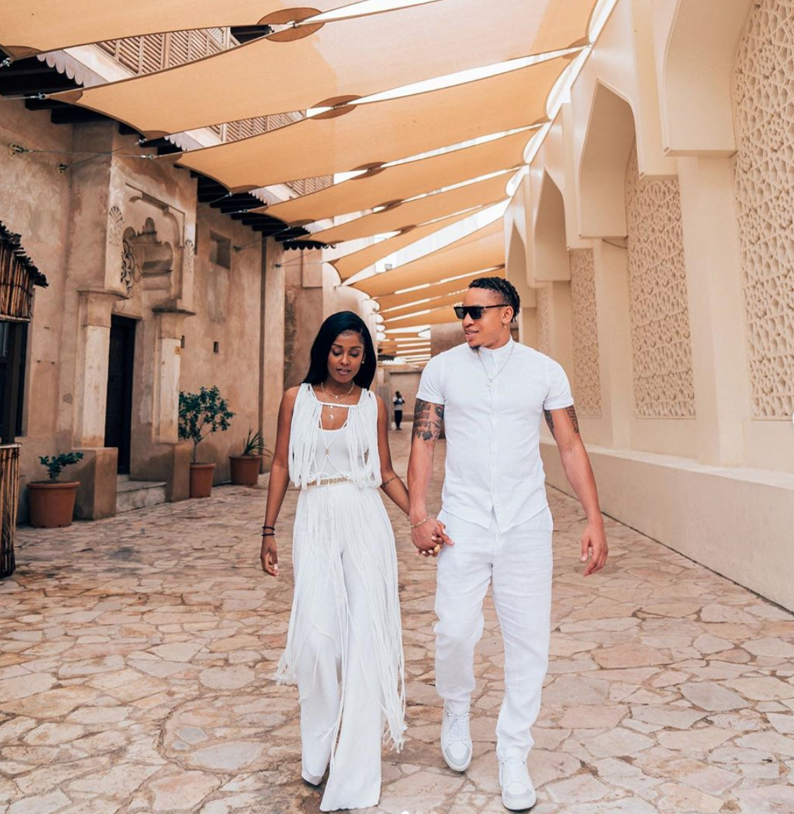 Rotimi And Vanessa Mdee Take A Fun-Filled Baecation To Dubai