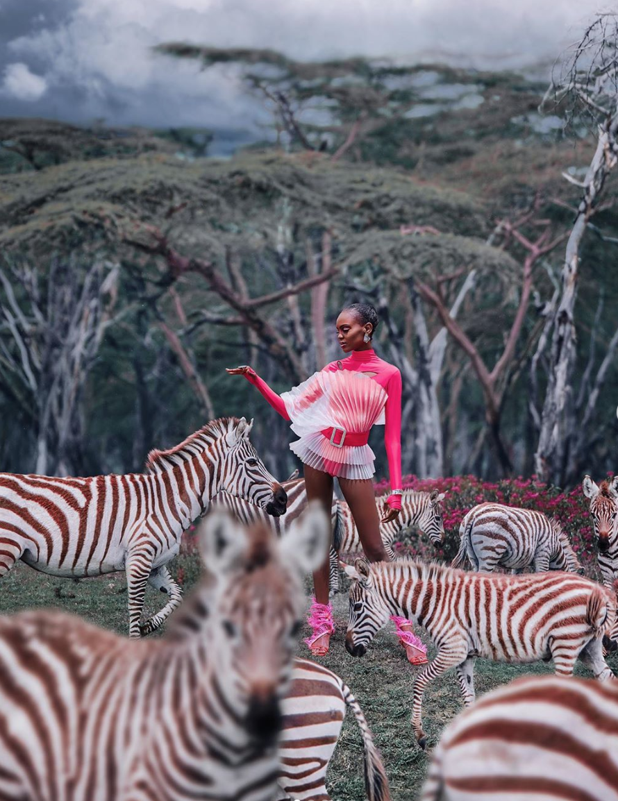 Miss Universe Kenya Stacy Michuki Highlights The Beauty Of Her Country's Safari In These Startling Images