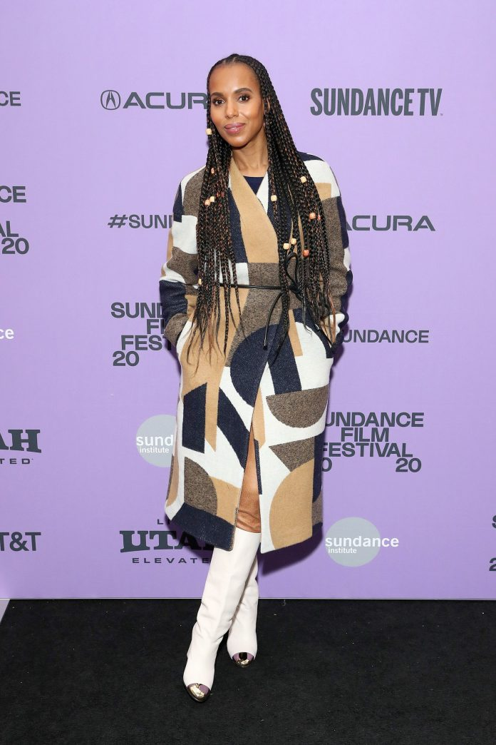 Kerry Washington at the 2020 Sundance Film Festival
