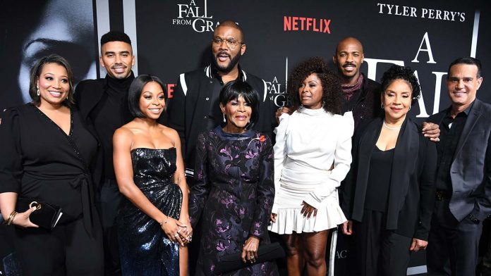 Tyler Perry has created another mindblowing movie - A Fall From Grace, this time with the streaming platform, Netflix.
