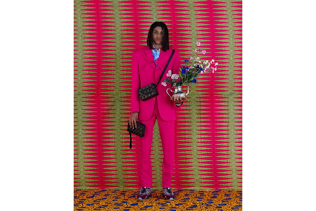 Beninese Photographer Leonce Raphael Agbodjélou Spotlights African Culture On Louis Vuitton's Latest Collection
