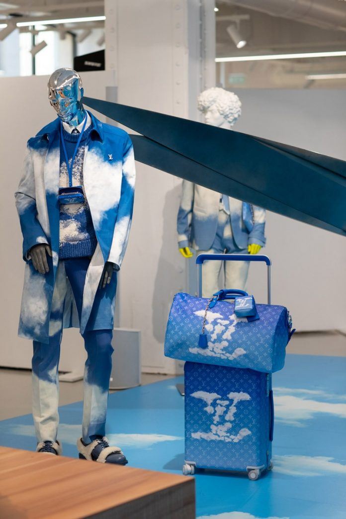 Louis Vuitton's Latest Collection Designed By Virgil Abloh Is Inspired By The Idea Of Heaven