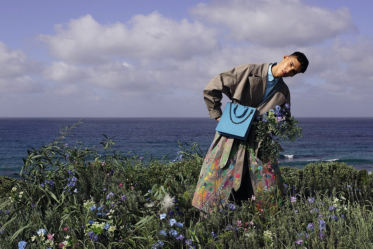 Virgil Abloh Holds Footprint Campaign Shoot For Louis Vuitton In Morocco With Local Models