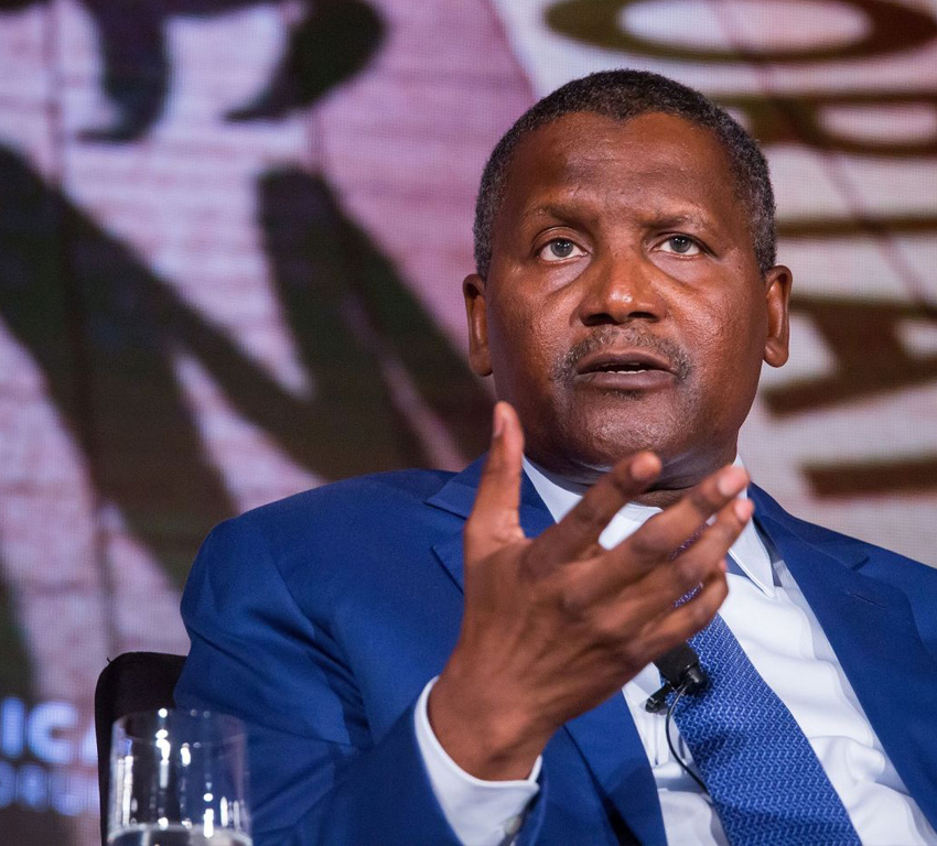 Dangote Is Africa's Richest Person For The ninth Year