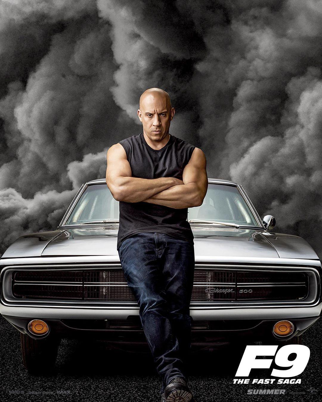 Van Diesel from Fast & Furious 9