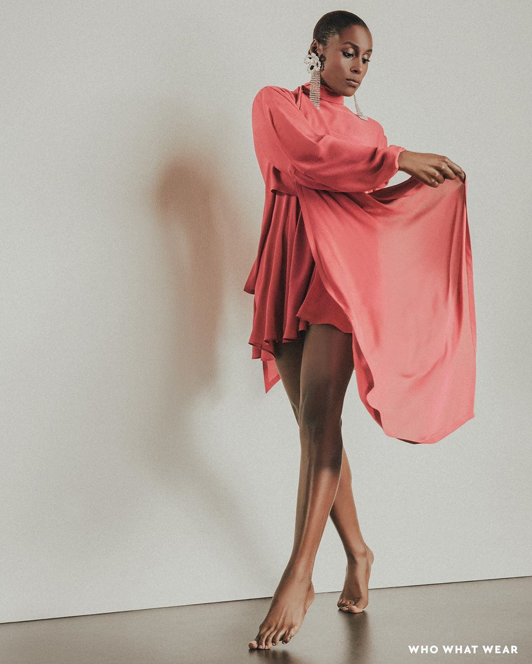 Issa Rae Is The Cover-Star Of Who What Wear's February Issue