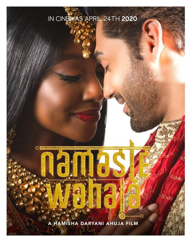 first poster for Namaste Wahala