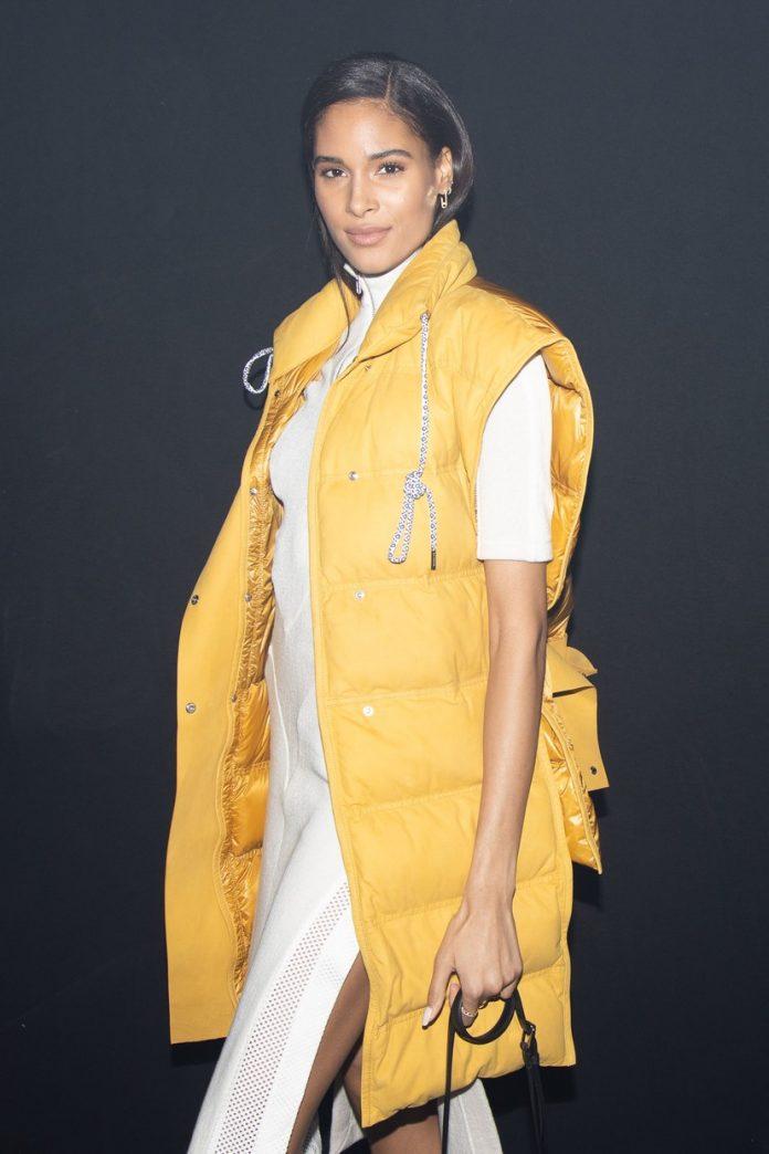 Cindy Bruna at Milan Fashion Week