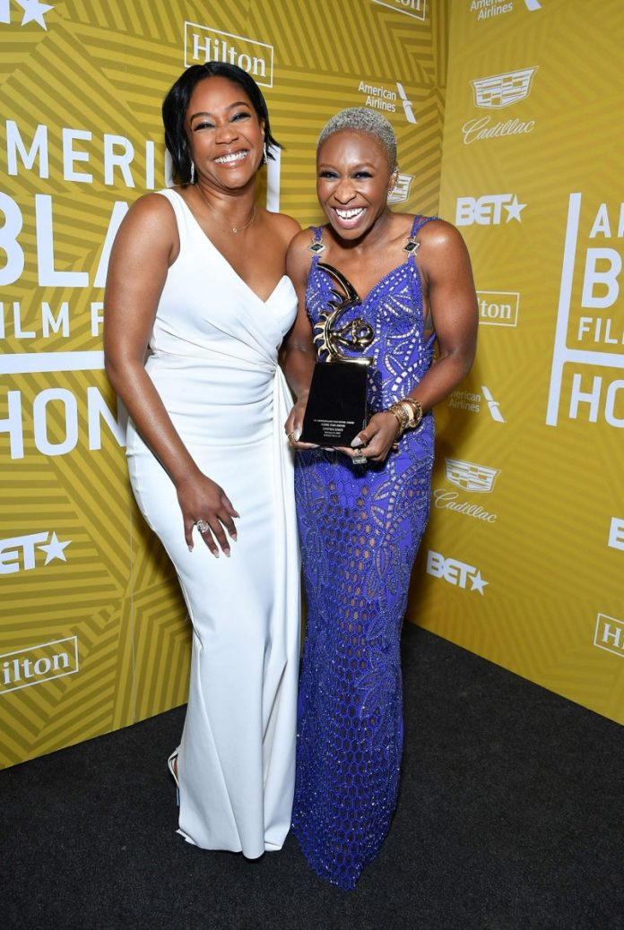 Tiffany Haddish and Cynthia Erivo