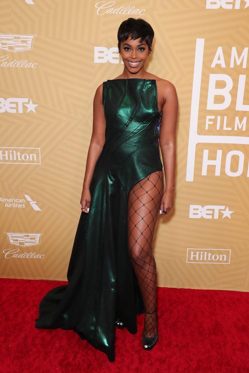 Nafessa Williams at American Black Film Festival Honors