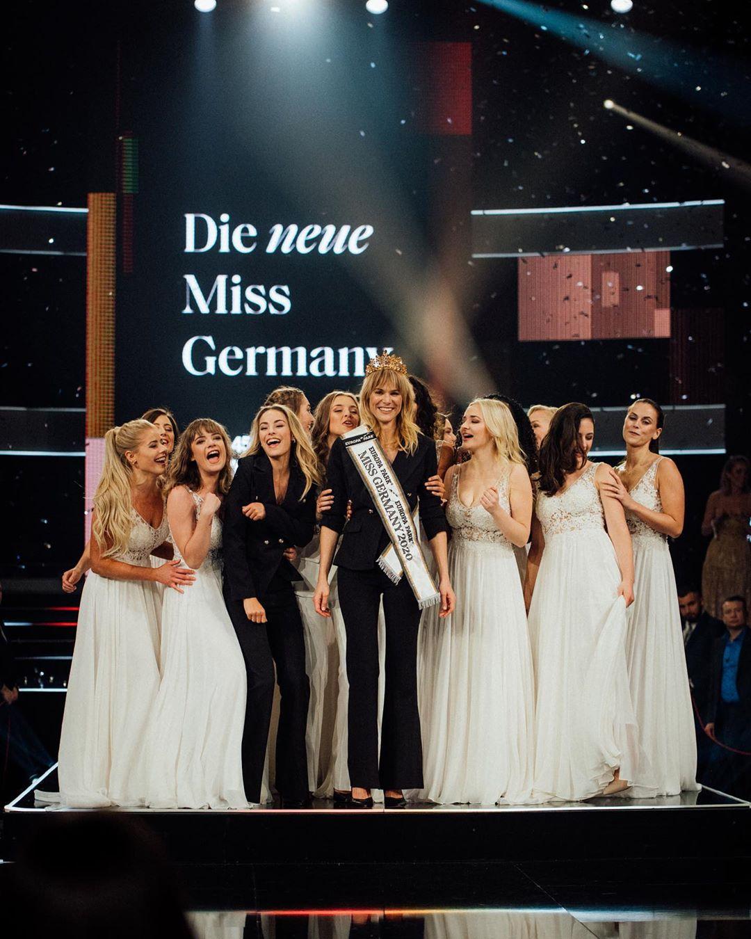 Leonie Von Hase wins Miss Germany 2020