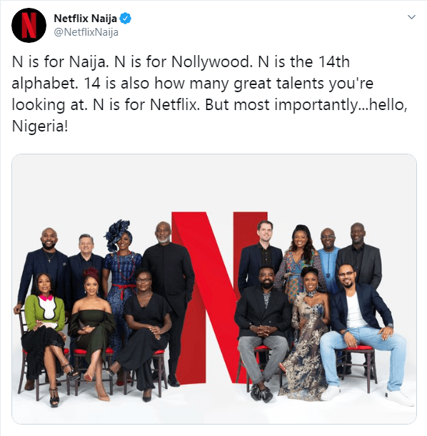 Netflix Is Officially In Nigeria
