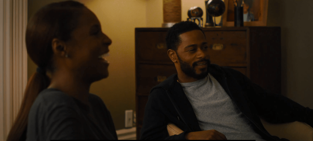 Issa Rae and LaKeith Stanfield from The Photograph