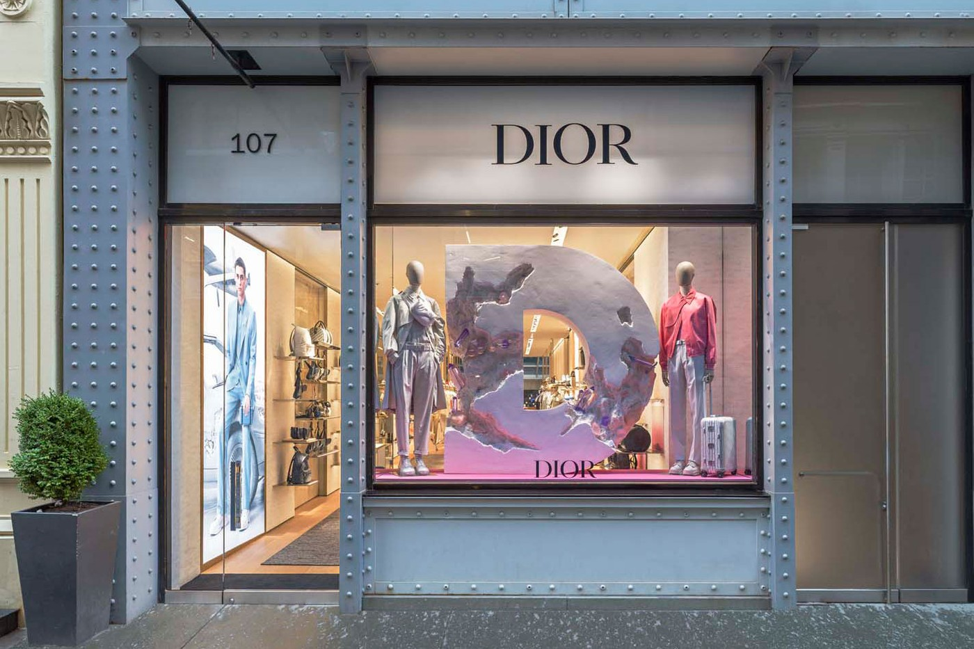 Dior Readies New York Boutique For Men